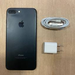 Loja física. IPhone 7 Plus 32Gb preto Matte, bateria 100% retira hoje