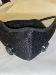 Máscara com respirador lara exercício físico