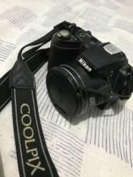 Câmera Digital SemiProfissional Nikon Coolpix L120