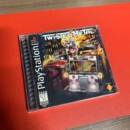 Twisted Metal PlayStation 1 Original Black Label