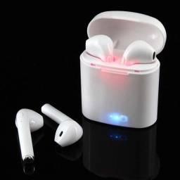 Fone de ouvido via Bluetooth utilizado apenas uma vez