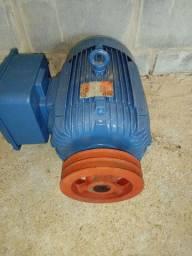 Motor weg monofásico 10 cv (baixa rotação)
