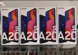Loja física. Samsung A20s Tela infinita novos lacrados garantia Samsung NFe Retira hoje!