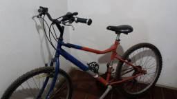 Bicicleta Caloi em perfeito estado vinte e uma marcha cambio ximano
