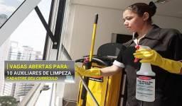 Contratando Auxiliar de Limpeza