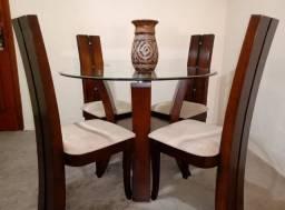 Conjunto de mesa + cadeiras + buffet + estante = 1.850,00 (retirada no Méier/RJ)