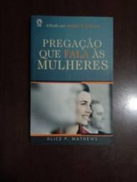 Pregação que fala as mulheres/  187 págs
