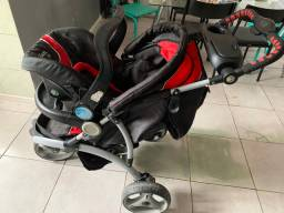 Carrinho de bebê infanti 3 rodas
