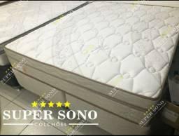 Conj Box Lotus Pelmex Queen Size 158x198 Mola Bonnel Prolastic A Pronta Entrega