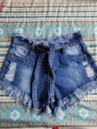 Shortinho jeans TAM 40