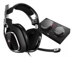 Headset Astro A40 Tr + Mix Amp M80 Preto Com Fio Xbox One