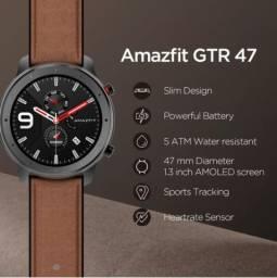 Smartwatch Amazfit GTR 47mm A1902 Aluminium Alloy Versão Global Gps