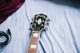 Guitarra clp 2 com case de luxo