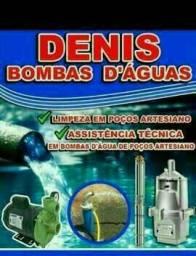 Consertos e bombas d'água