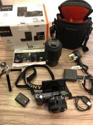 Câmera fotográfica SONY Alpha 5000 wifi + lente zoom 55-210