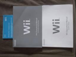 Manuais Nintendo Wii (somente venda)