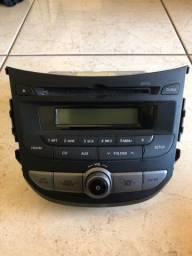 Rádio / Toca CD / Som Original HB20