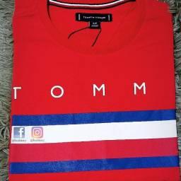 Camiseta Tommy Hilfiger tecido Peruano