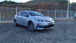 Toyota Corolla com apenas 19.900 km rodados estado de 0km