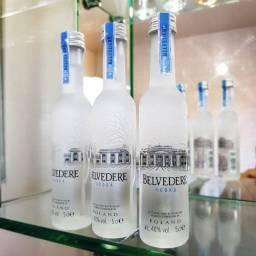 Miniatura Vodka Belvedere Polonesa - 50ml - Original, Lacrada e Licenciada