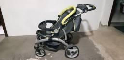 Carrinho de Bebê com Bebê Conforto Infanti Quattro-s