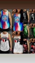 camisetas e vestidos de clubes