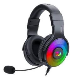 Headset Gamer Redragon Pandora Rgb H350rgb 7.1 Surround