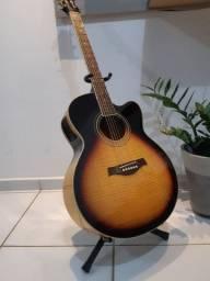 violão tagima jumbo maple novo