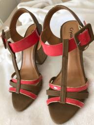 Sandália CRYSALIS tamanho 37