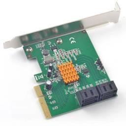Placa de Expansão 4x SATA 3.0 PCI-e Syba FG-EST17A