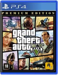 GTA 5 Premium Edition- PS4