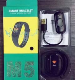 M5 Pulseira Inteligente Smart Band Lançamento