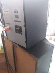 Som LG pen drive, duas entradas de usb 160W rms rádio mp3 cd