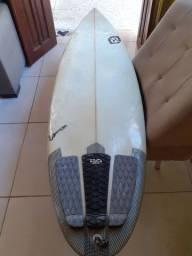 Prancha de Surf Secco Carving 5'8 com deck traseiro