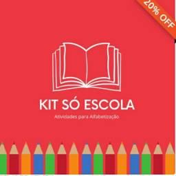 Kit escolar para alfabetização infantil