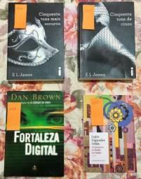 Vendo livros semi novos (bem conservados)