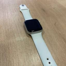 Loja física. Apple Watch serie 5 4mm prata, muito novo garantia junho 2021 retira hoje