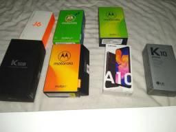Caixas de smartphones