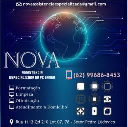 Assistencia tecnica Especializada  para computadores em Goiânia
