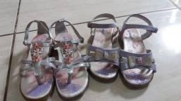 Sandalias infantil n. 27 Mimope 2 unidades