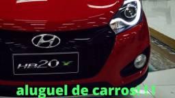 Aluguel carro Hyundai Hb20s ou similar