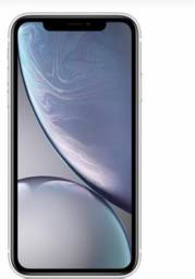 Vendo iPhone XR 128G branco completo na garantia