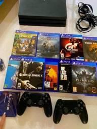 PlayStation 4 Pro Com Memoria 1Tera