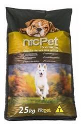 Ração Nic Pet Cães Adultos Premium - 25kg