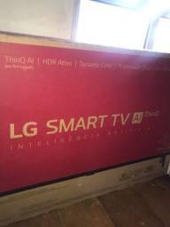 LG Smart TV - 43 polegadas lacrada e com nota