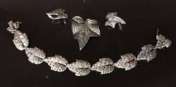 Antigo Conjunto em prata 935 - Geschutzt