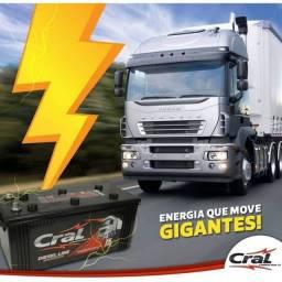 Bateria Cral 100AH 15 meses garantia
