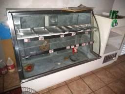 balcão refrigerado com caixa !!