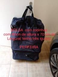 Bolsa/Mala com rodinhas (