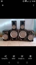 Vendo  6 caixas de som sim novas R$500,00 mas tem conversa